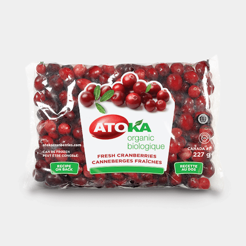 Organic Fresh Cranberries - Atoka - Certified Paleo - Paleo Foundation