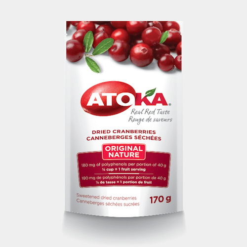 Original Dried Cranberries - Atoka - Certified Paleo - Paleo Foundation