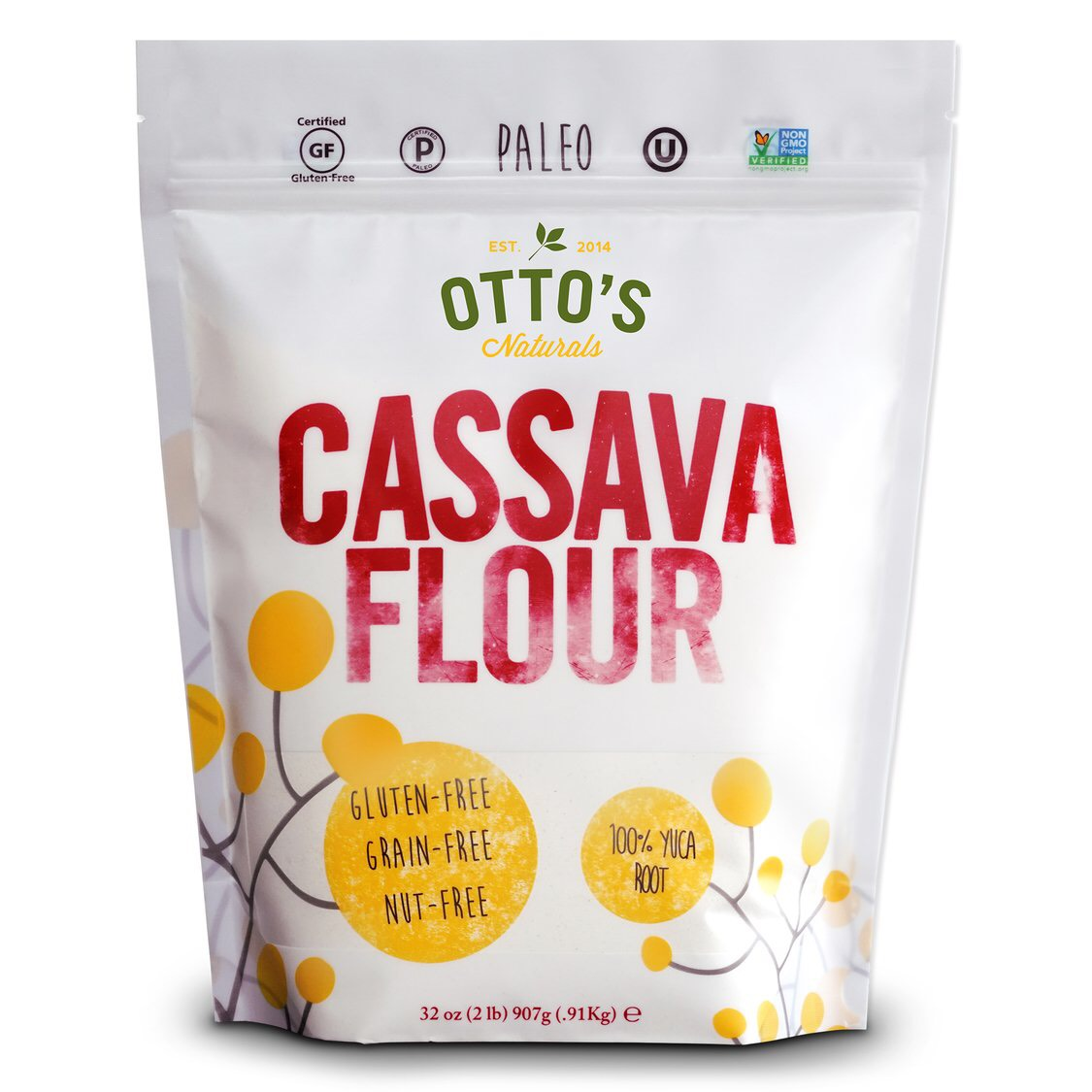 Otto's Cassava Flour - Certified Paleo by the Paleo Foundation