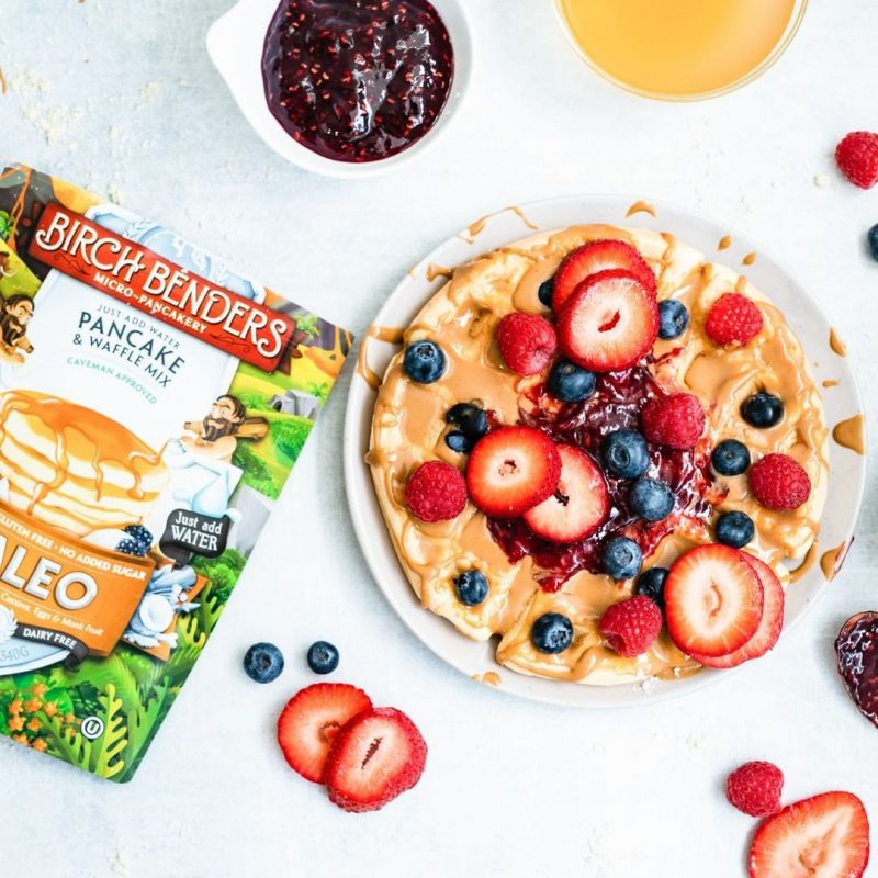 Paleo Pancake Mix 2 - Birch Benders - Certified Paleo - Paleo Foundation