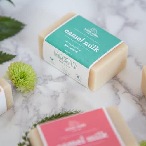 Peppermint Camel Milk Soap - Desert Farms - Paleo Approved - Paleo Foundation