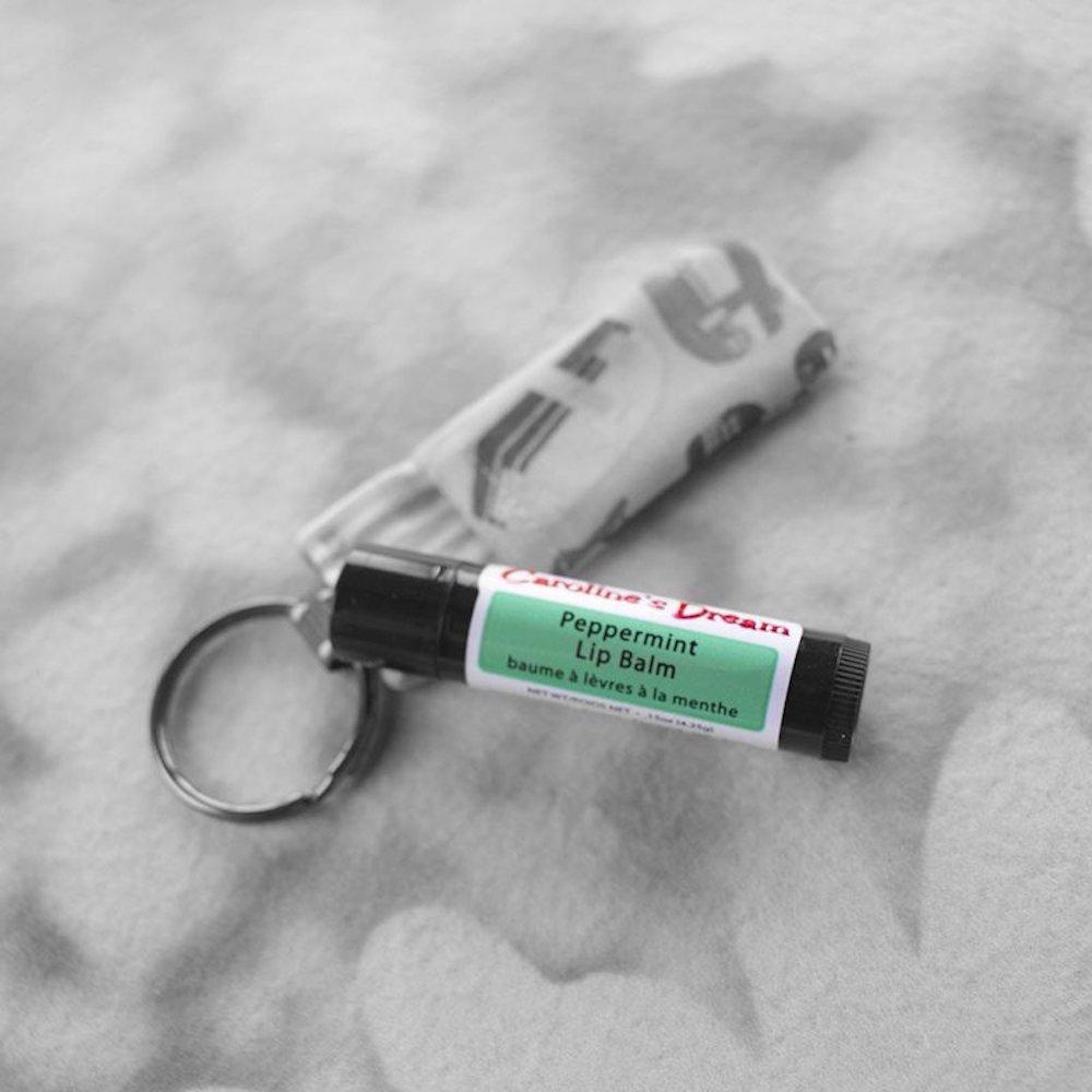 Peppermint Lip Balm - Caroline's Dream - Certified Paleo by the Paleo Foundation 1