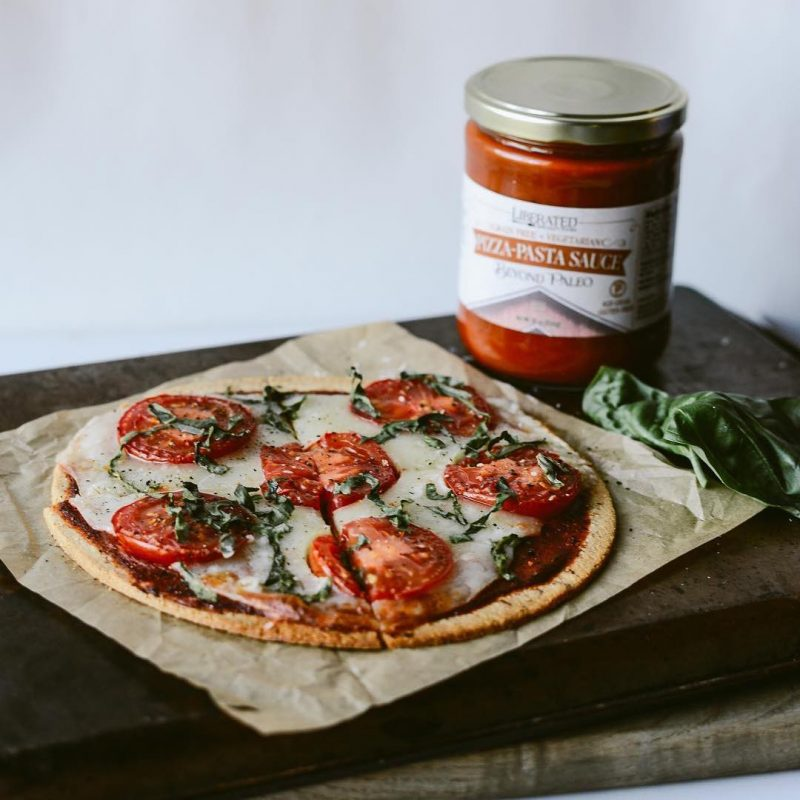 Pizza and Pizza Sauce - Liberated Specialty Foods - Certified Paleo, Grain Free Gluten Free - Paleo Foundation