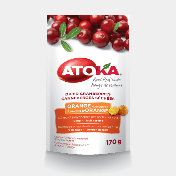 Certified Paleo Atoka Orange Cranberries