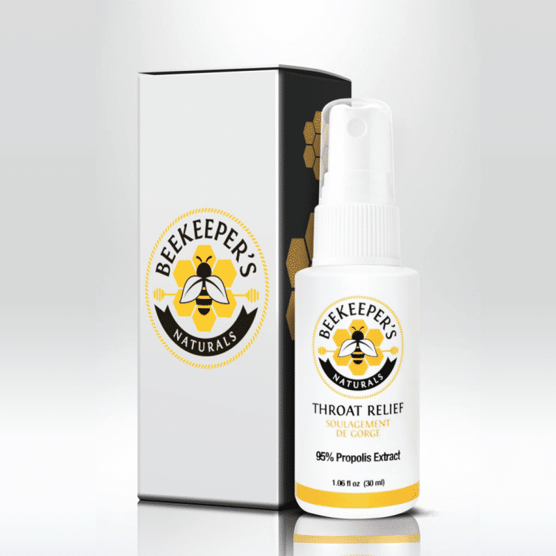 Propolis Spray - Beekeeper's Naturals - Certified Paleo - Paleo Foundation