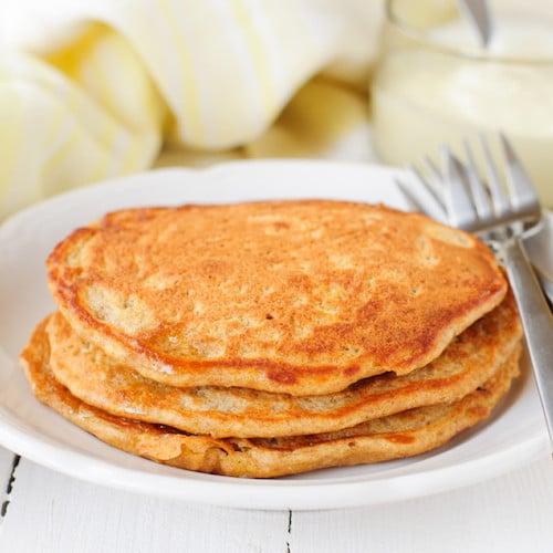Otto's Cassava Pumpkin Pancakes