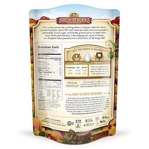 Pumpkin Spice back - Birch Benders - Certified Paleo - Paleo Foundation