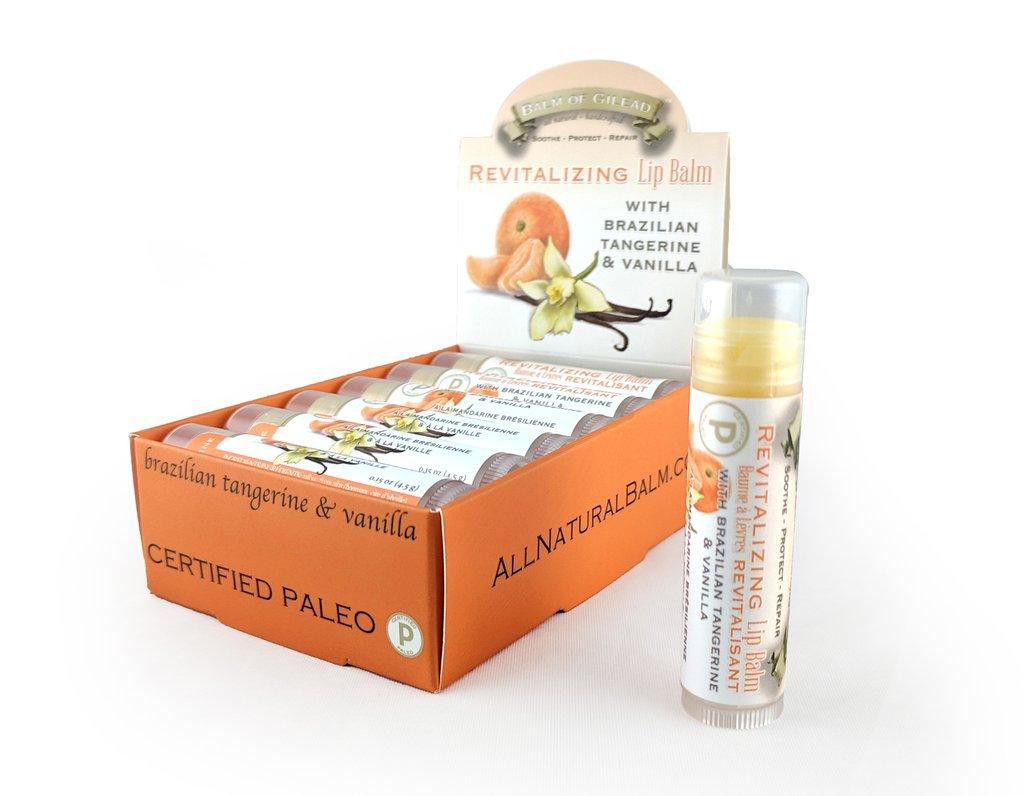 Revitalizing Brazilian Tangerine & Vanilla Lip Balm