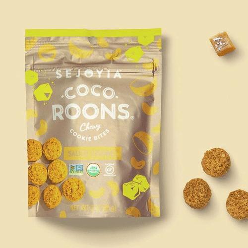 Salted Caramel Coco-roons - Sejoyia - Certified Paleo, Paleo Vegan - Paleo Foundation