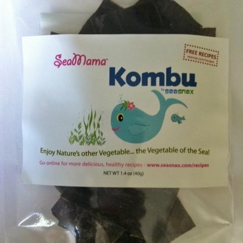 SeaMama Kombu - SeaSnax - Certified Paleo, PaleoVegan, KETO Certified, Whole30, AIP - Paleo Foundation