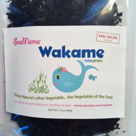 SeaMama Wakame Flakes - SeaSnax - Certified Paleo, PaleoVegan, KETO Certified, Whole30, AIP - Paleo Foundation