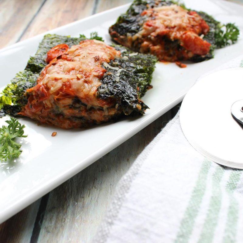 SeaSnax lasagna - Certified Paleo, PaleoVegan, & KETO Certified by the Paleo Foundation