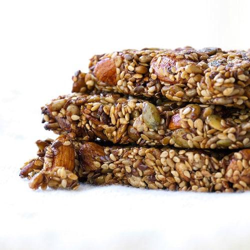 Seed + Nut Bars - Keep It Real Food CO - Certified Paleo - Paleo Foundation