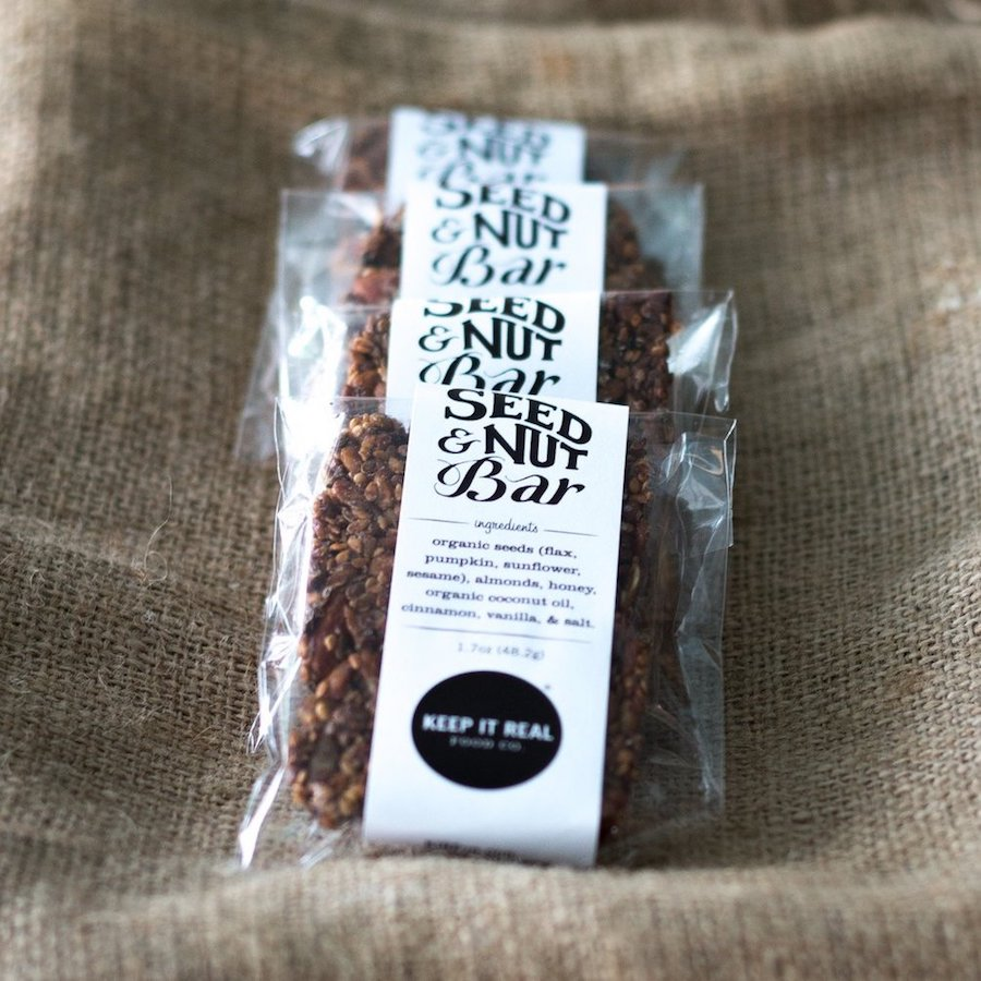 Seed + Nut Bars - Keep It Real Food Co. - Certified Paleo by the Paleo Foundation