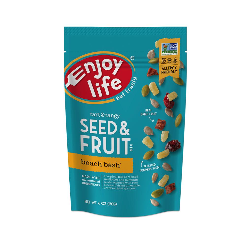 Seed and Fruit Mix Beach Bash - Enjoy Life - Paleo Friendly - Paleo Foundation