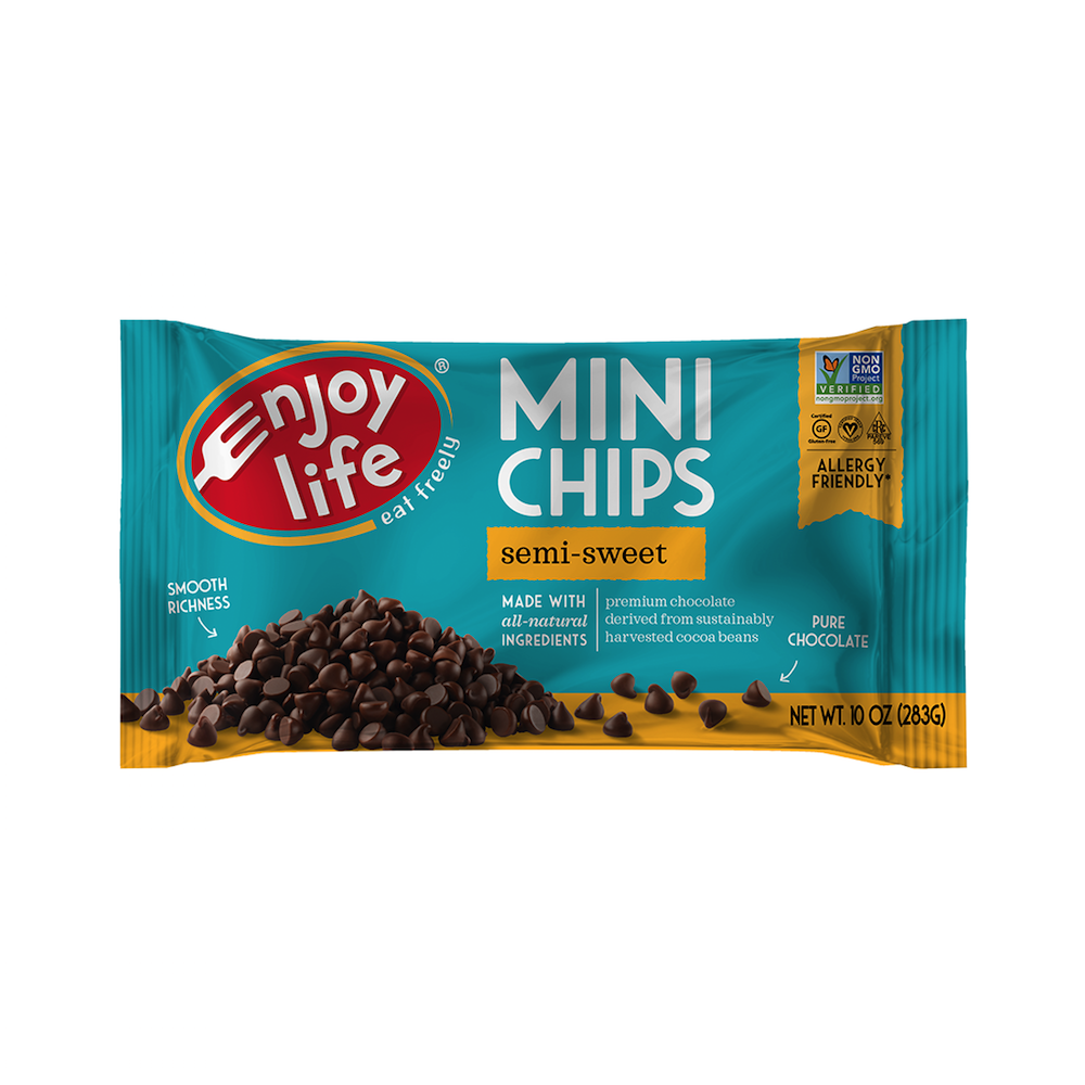 Semi-Sweet Chocolate Chips Mini Chips - Enjoy Life - Paleo Friendly - Paleo Foundation