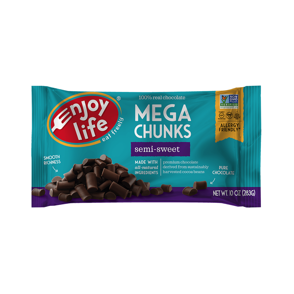 Semi-Sweet Chocolate Mega Chunks - Enjoy Life - Paleo Friendly - Paleo Foundation