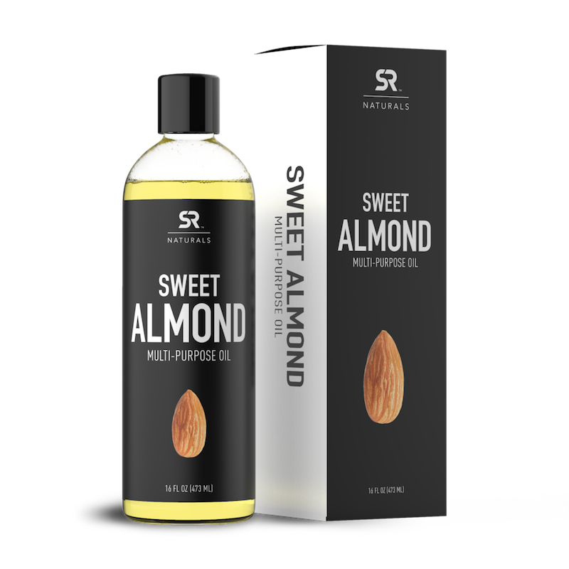 Sweet Almond Oil - Sports Research - Certified Paleo, Keto Certified by the Paleo Foundation