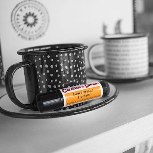 Sweet Orange Lip Balm - Caroline's Dream - Certified Paleo - Paleo Foundation