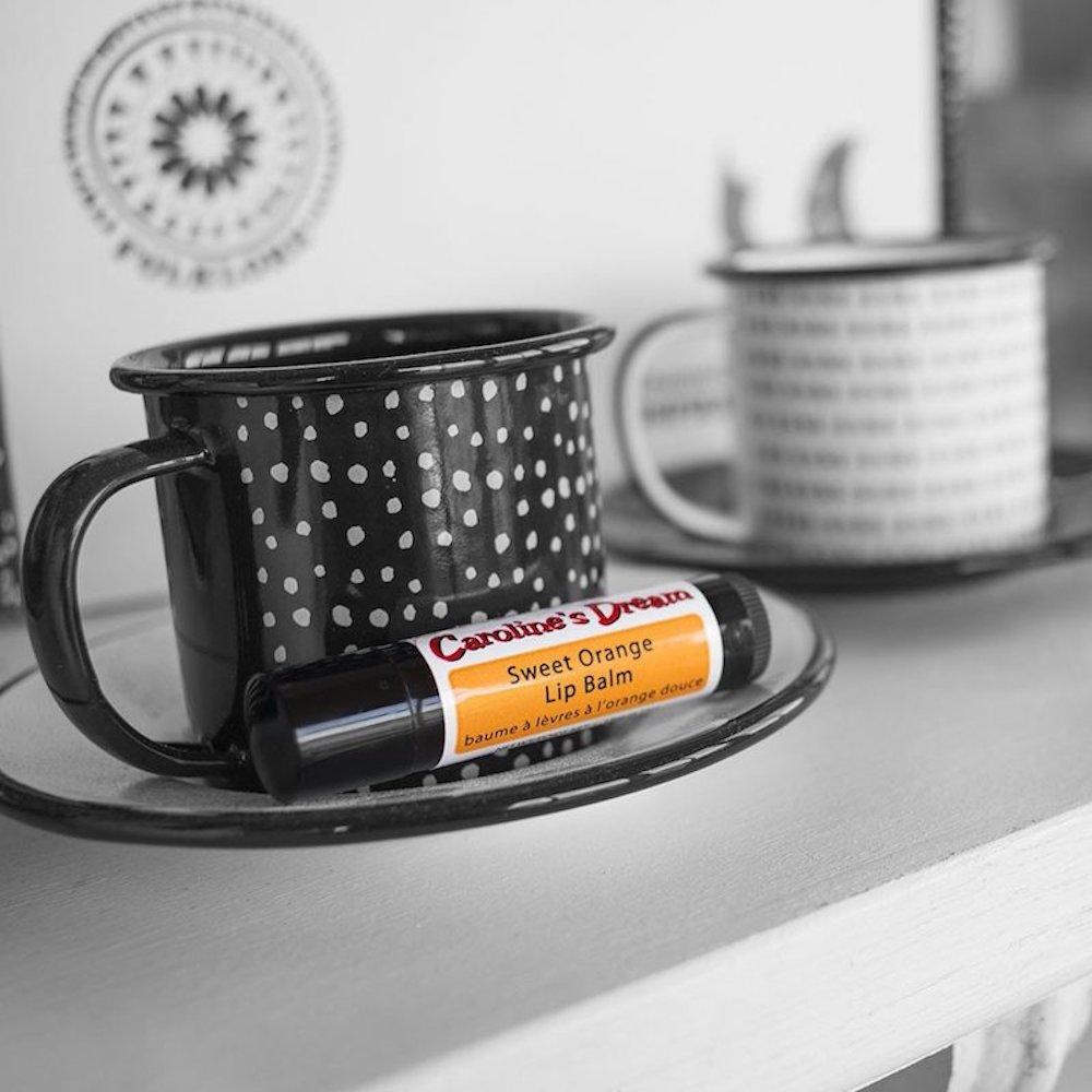 Sweet Orange Lip Balm - Caroline's Dream - Certified Paleo by the Paleo Foundation 1