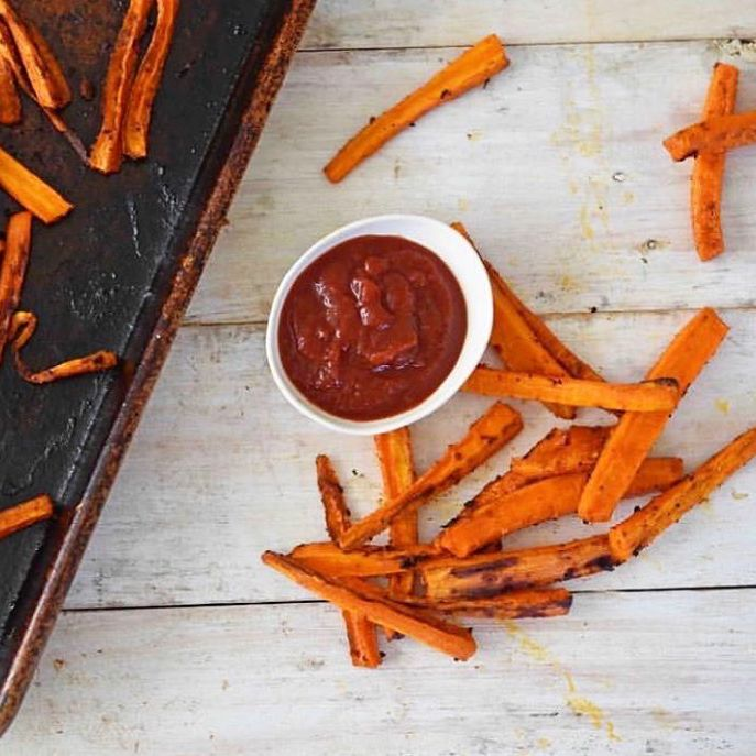 Sweet Potato Frieds & Vegetable Ketchup, No Sugar - True Made Foods - Certified Paleo, Paleo Vegan by the Paleo Foundation