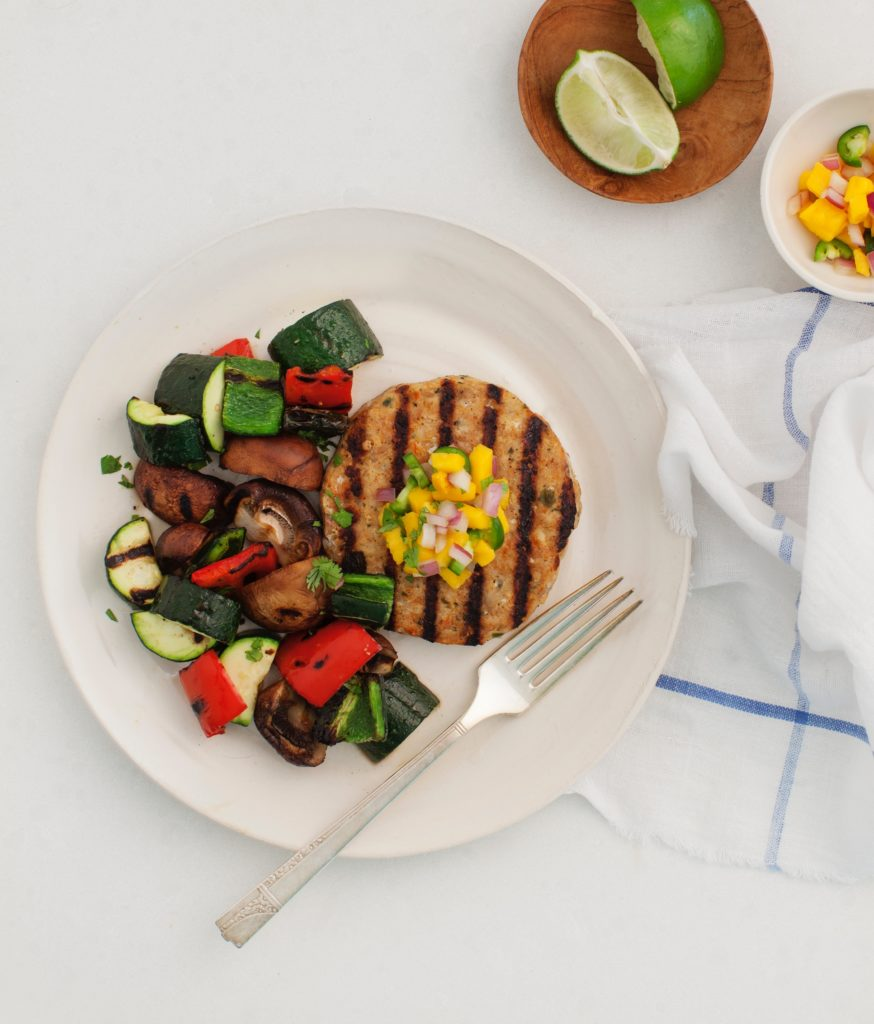 Tribalí Foods - Chipotle Chicken Patty with Grilled Zuchinni - Certified Paleo - Paleo Foundation