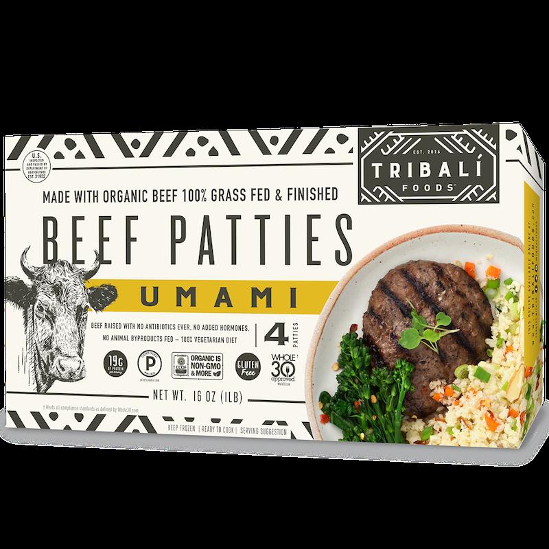 Umami Style Beef Patty - Tribali - Certified Paleo by the Paleo Foundation