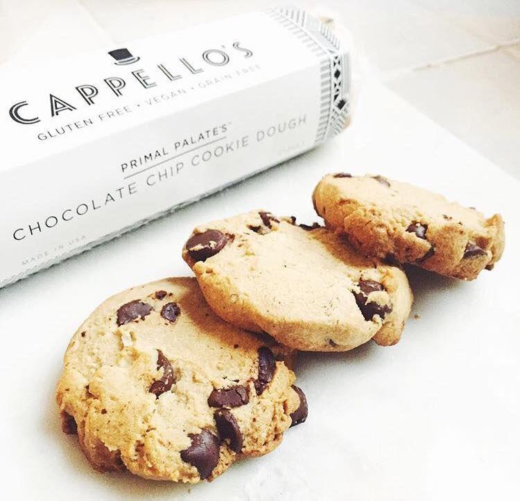 Paleo Friendly and Vegan Cappellos Cookie Dough