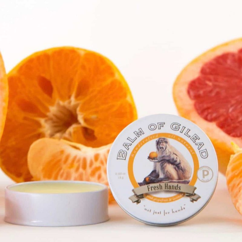 """Fresh Hands"" Hand Balm - Balm of Gilead - What goes on our skin CAN penetrate into our bloodstream. While not everything can penetrate, many things certainly do! And as our society has become increasingly aware of harmful, and often unnecessary, chemicals, additives, and preservatives, both in diet and in body care, Balm of Gilead has emerged as a safe and effective brand of skin care. #certifiedpaleo #paleo"