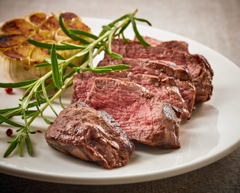 Beef Steak Sliced - Australian Grassfed Meats is artisanal producer of high quality grass-fed, blue-label beef and lamb in Queensland, Australia. Their commitment to animal welfare ensures livestock is always handled and managed for minimum stress, with the vision of animals being raised healthy and happy. #paleo #paleoapproved #certifiedpaleo