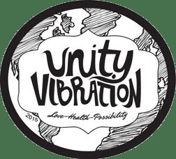 unity vibration kombucha beer logo