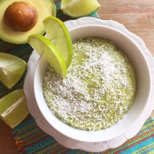 Avocado Lime Pudding - Great Lakes Gelatin - Certified Paleo, KETO Certified - Paleo Foundation