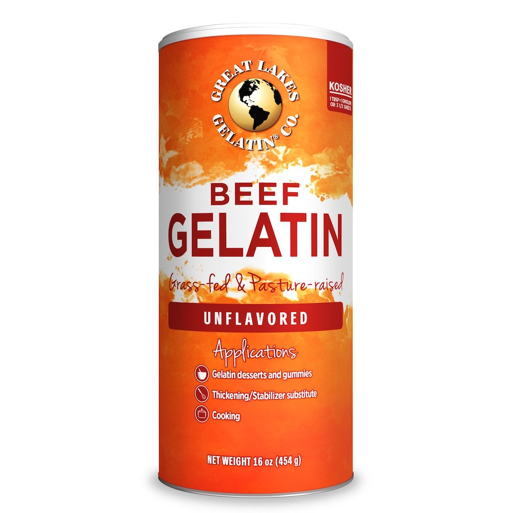Beef Gelatin - Great Lakes Gelatin - Certifed Paleo Friendly, Keto Certified by the Paleo Foundation