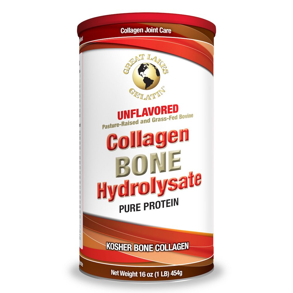 Collagen Bone Hydrolysate - Great Lakes Gelatin - Certifed Paleo Friendly, Keto Certified by the Paleo Foundation