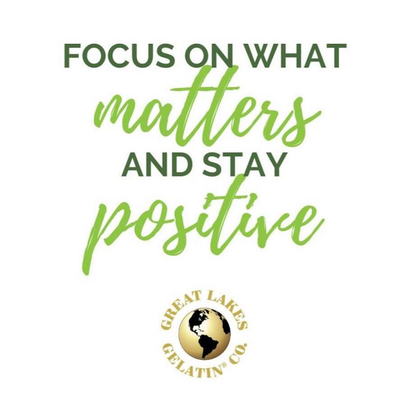 Focus on what matters - Great Lakes Gelatin - Certifed Paleo Friendly, Keto Certified by the Paleo Foundation