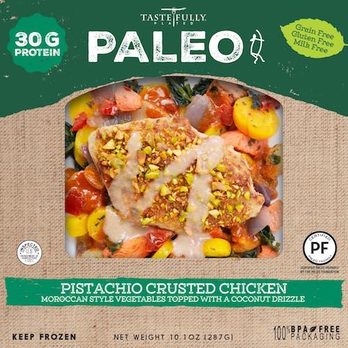 Pistachio Chicken - Tastefully Plated - Paleo Friendly - Paleo Foundation