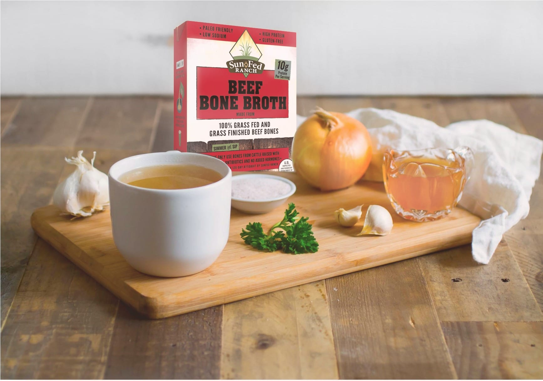 Sun Fed Ranch Beef Bone Broth
