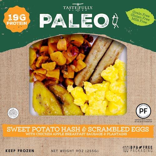 Sweet Potato Hash & Scrambled Eggs - Tastefully Plated - Paleo Friendly - Paleo Foundation