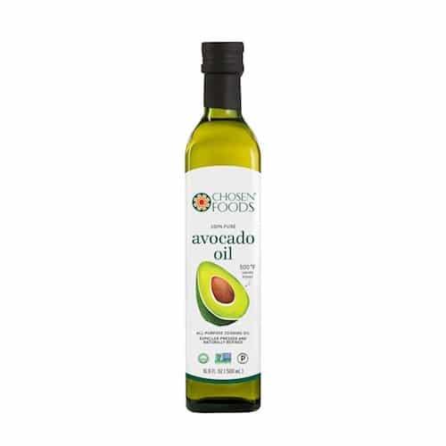 100% Pure Avocado Oil - Chosen Foods - Certified Paleo, KETO Certified - Paleo Foundation