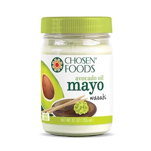 Avocado Oil Wasabi Mayo - Chosen Foods - Certified Paleo - Paleo Foundation