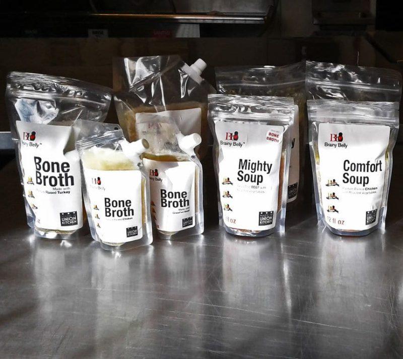 Bone Broth lineup - Brainy Belly - Certified Paleo - Paleo Foundation