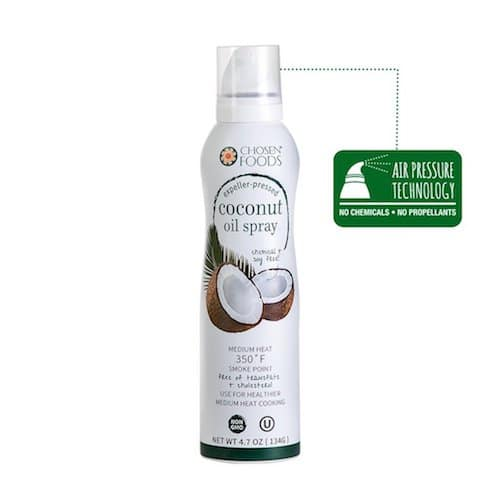 Coconut Oil Spray - Chosen Foods - Certified Paleo, KETO Certified - Paleo Foundation