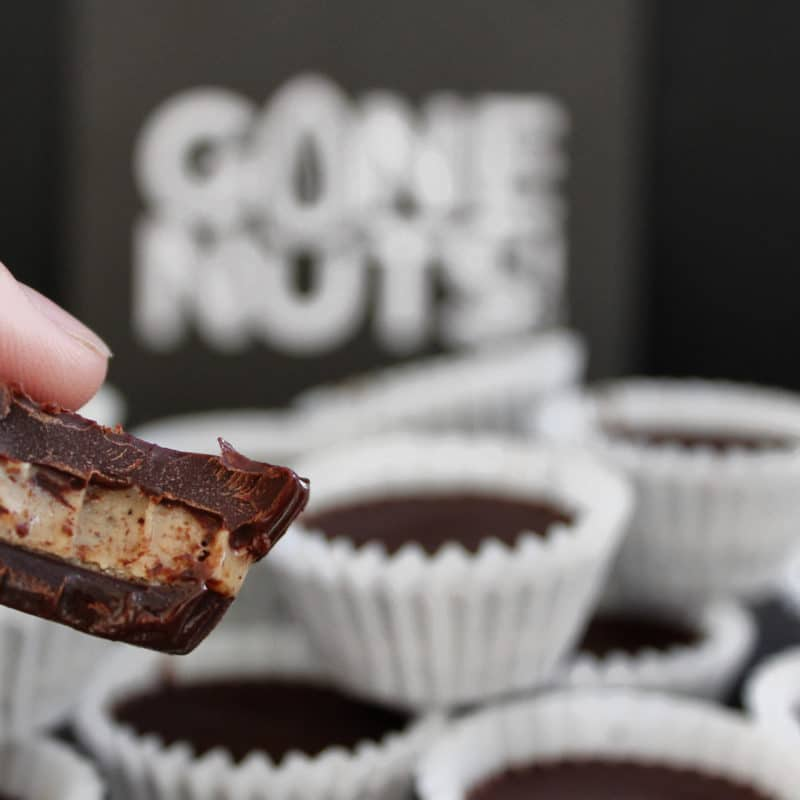 Almond Butter Cups - Gone Nuts - Gone Nuts' almond butters are made of the highest quality ingredients to provide a gluten-free, grain-free and refined-sugar free product. All of the almond butters are incredibly crave-worthy, with your health as a first priority! #certifiedpaleo #paleofriendly #KETOcertified #paleo