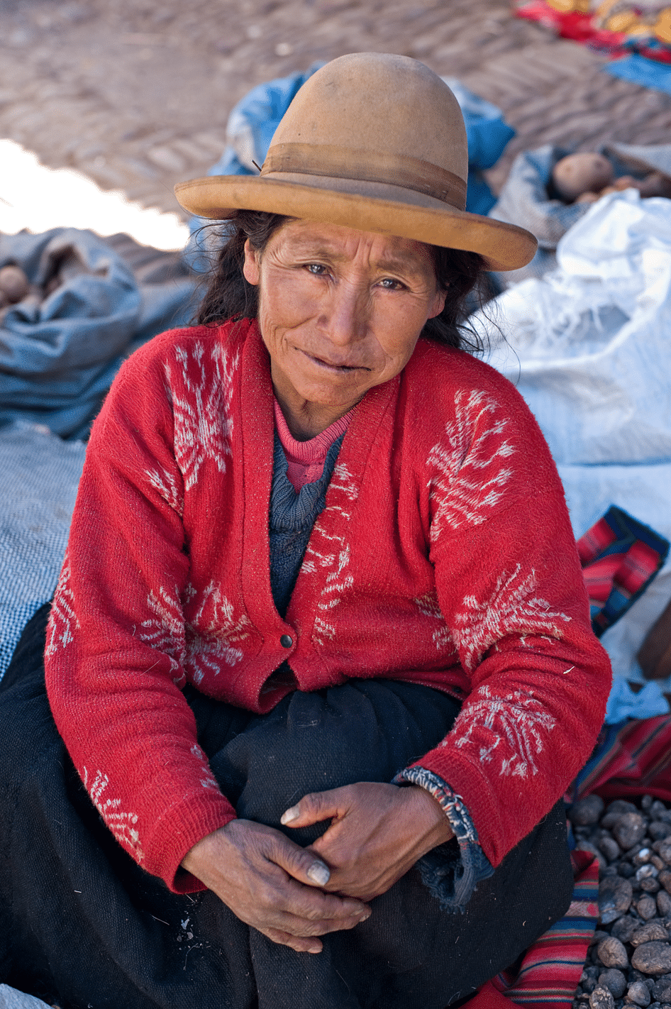 The Aymara are a potato-dependent group of indigenous people who span Peru, northern Chile, and western Bolivia.