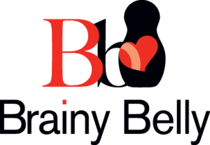 Brainy Belly Logo - Certified Paleo - Paleo Foundation