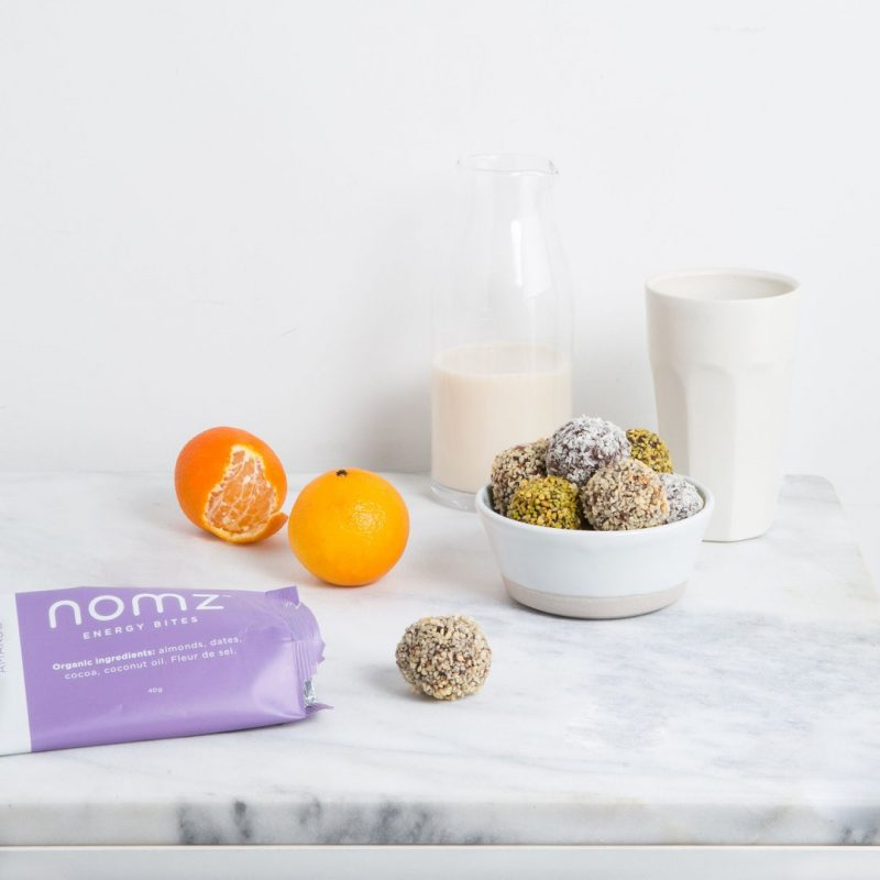 Almond Energy Bites 1 - Nomz - Certified Paleo by the Paleo Foundation