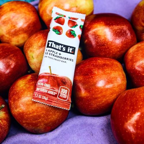Apple + Strawberry - That's it.® - Certified Paleo - Paleo Foundation