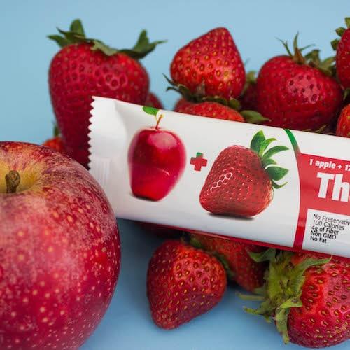 Apple + Strawberry - That's it.® - Certified Paleo, Paleo Friendly - Paleo Foundation