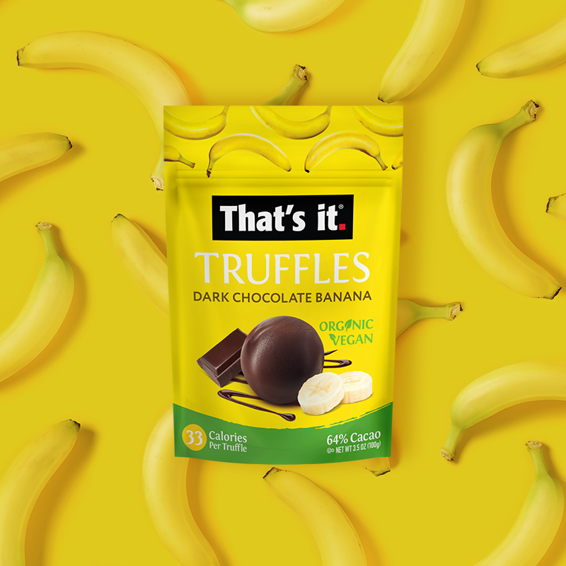 Banana Truffle Gallery - That's It. - Certified Paleo, KETO Certified by the Paleo Foundation