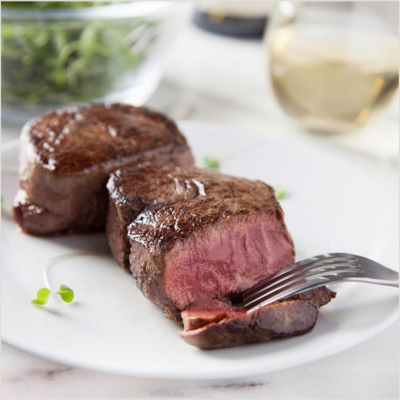 Filet Mignon 5 oz. Beef Steaks - Pre Brands - Certified Paleo, KETO Certified by the Paleo Foundation